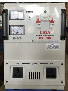 Ổn áp 1 pha Lioa 7.5kVA DRI – 7500 II