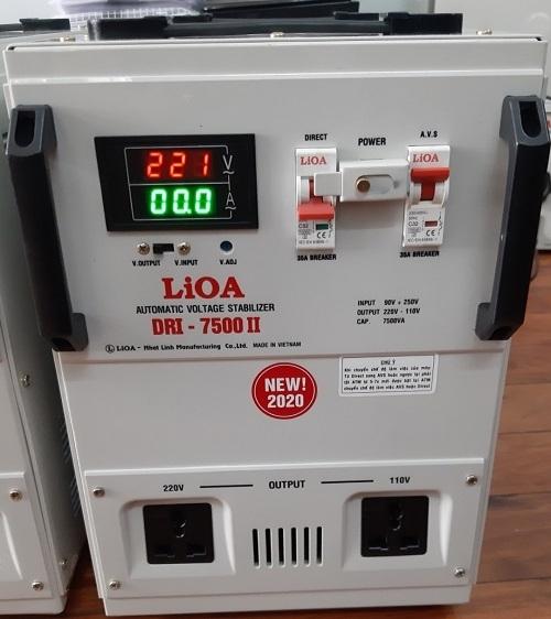 On Ap 1 Pha Lioa 7 5kva Dri 7500ii