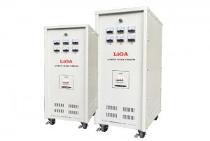 Điện áp vào: 260V – 430V Điện áp ra: 380V Tần số: 42 ~ 62Hz Công suất (kVA): 1000 Kích thước (mm): 1200x860x2100 Trọng lượng (kg): 3650 Bảo hành: 4 năm